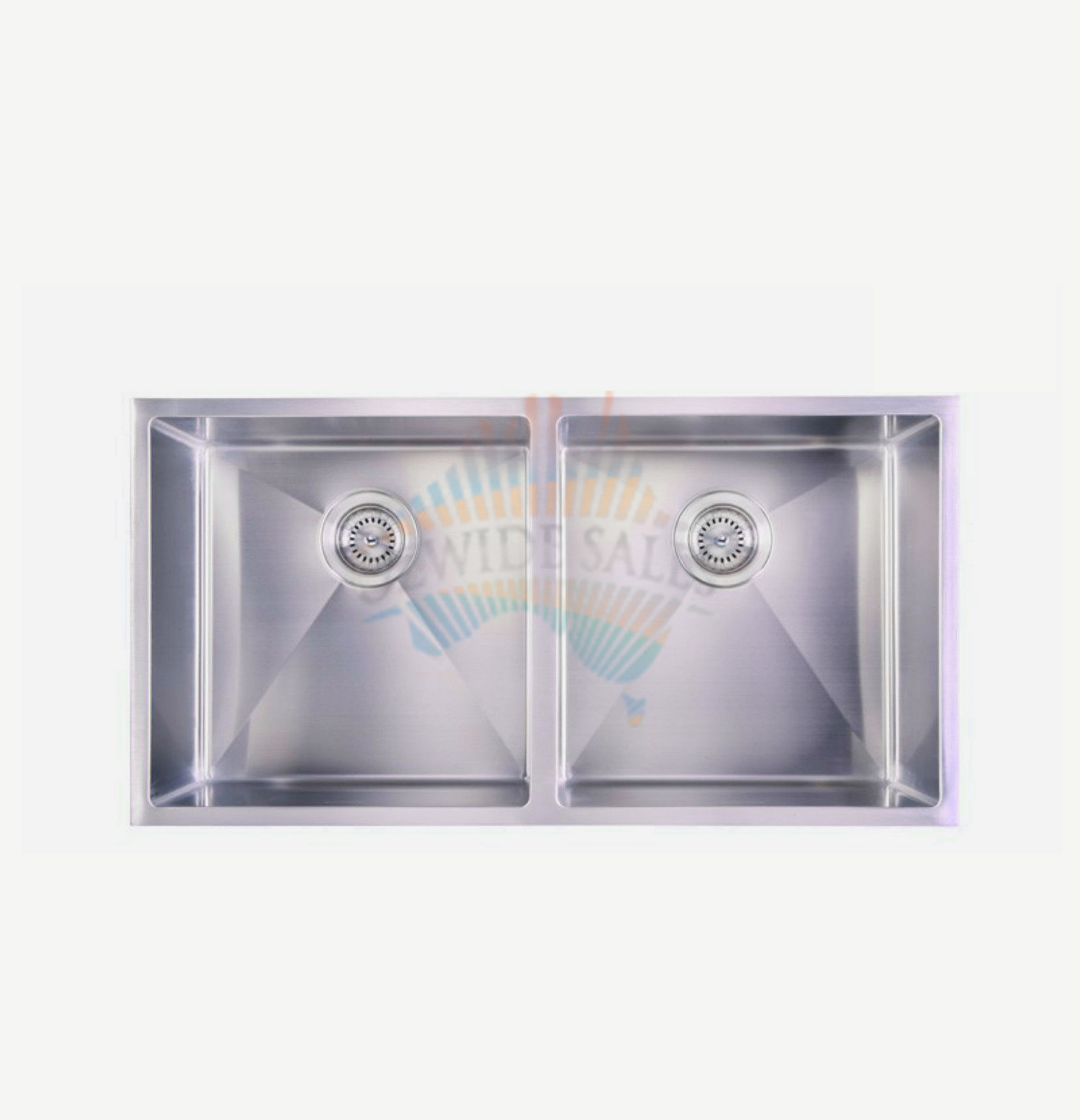 Laundry Double Sink : ... Double Bowl Kitchen Sink 304 Stainless Steel Laundry Top Undermount