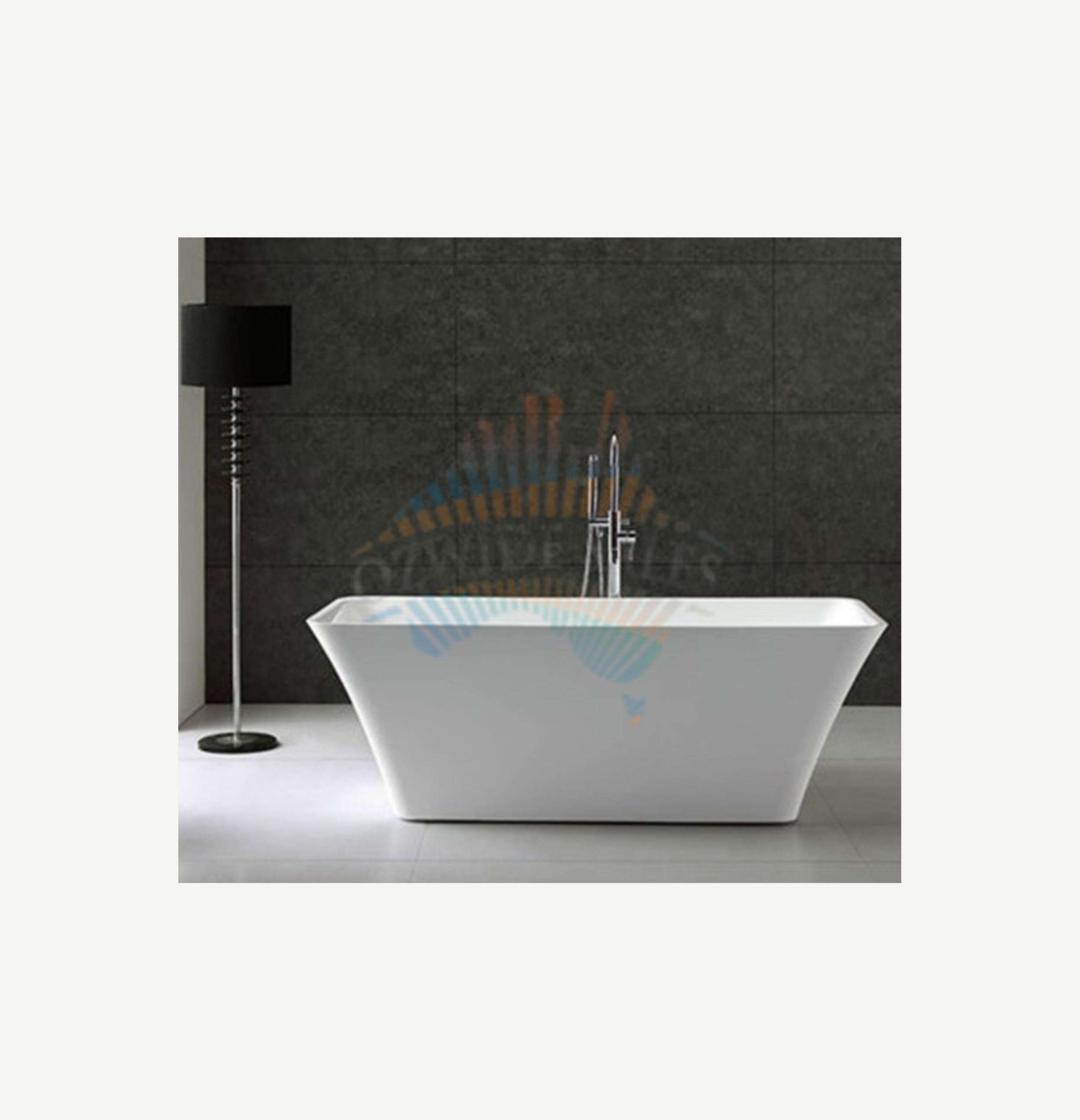 Luxury Freestanding Acrylic Bath Tub No Overflow High Quality Finish ...