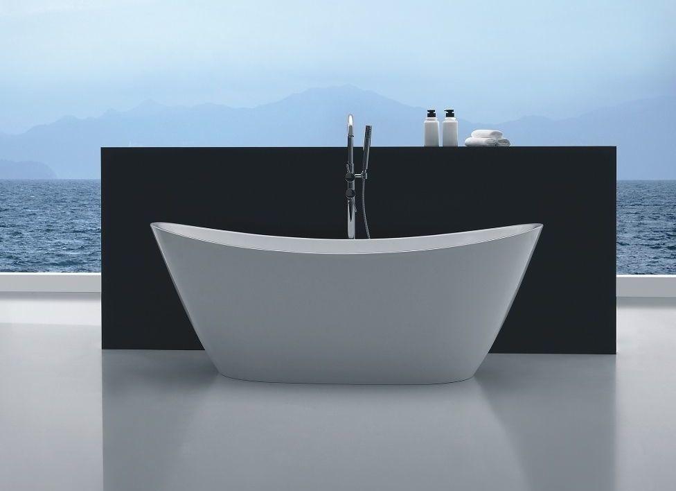 Freestanding Bathroom Bath Tub Modern 1700 mm Free Standing Bathtub ...