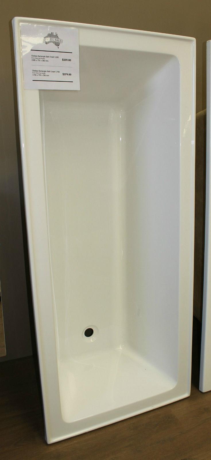 Rectangle Drop in Insert Bath Square Acrylic Bathtub High Quality ...